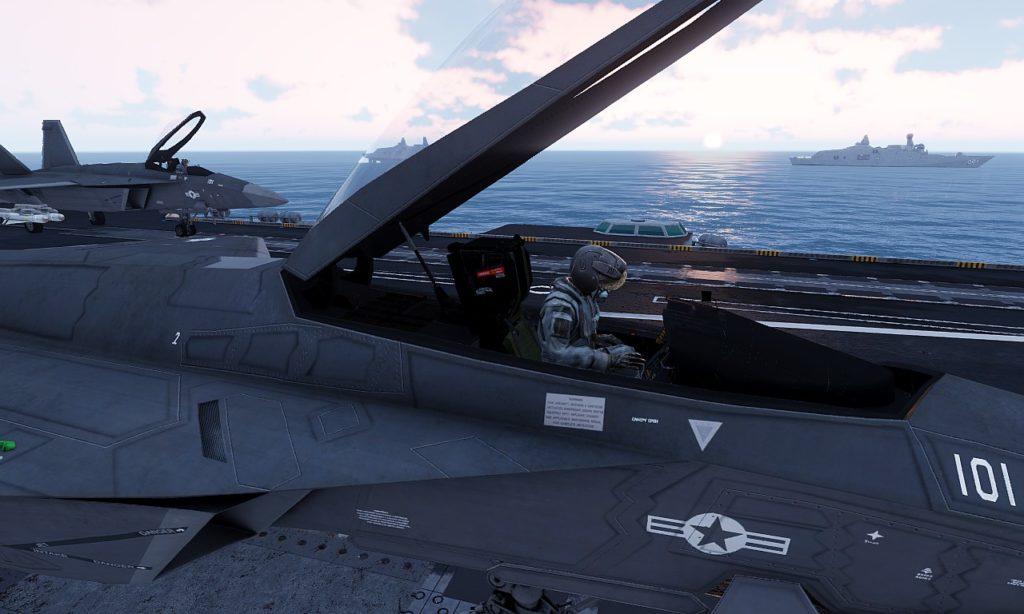 Arma 3 Jets DLC F/A-181 Black Wasp 2 Sortie