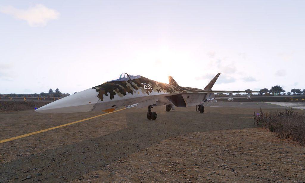 To-201 Shikra basd Su-35