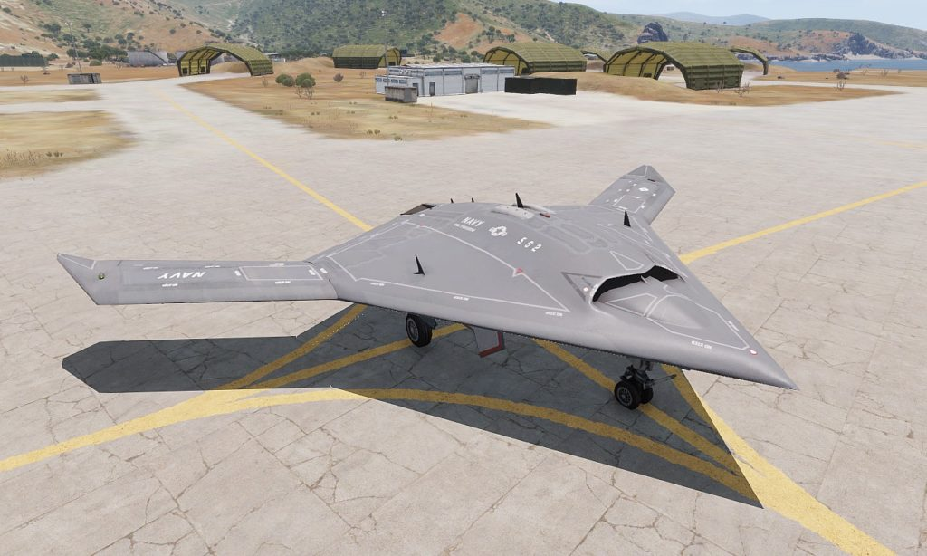 Arma3 Jets DLC UCAV Sentinel 01