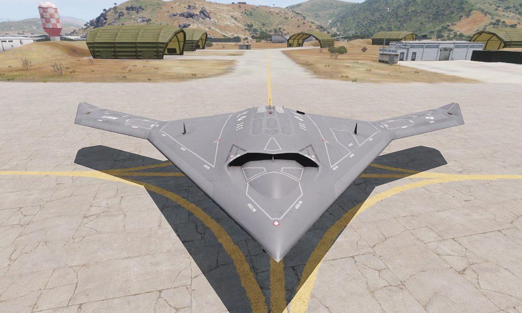 Arma3 Jets DLC UCAV Sentinel 02