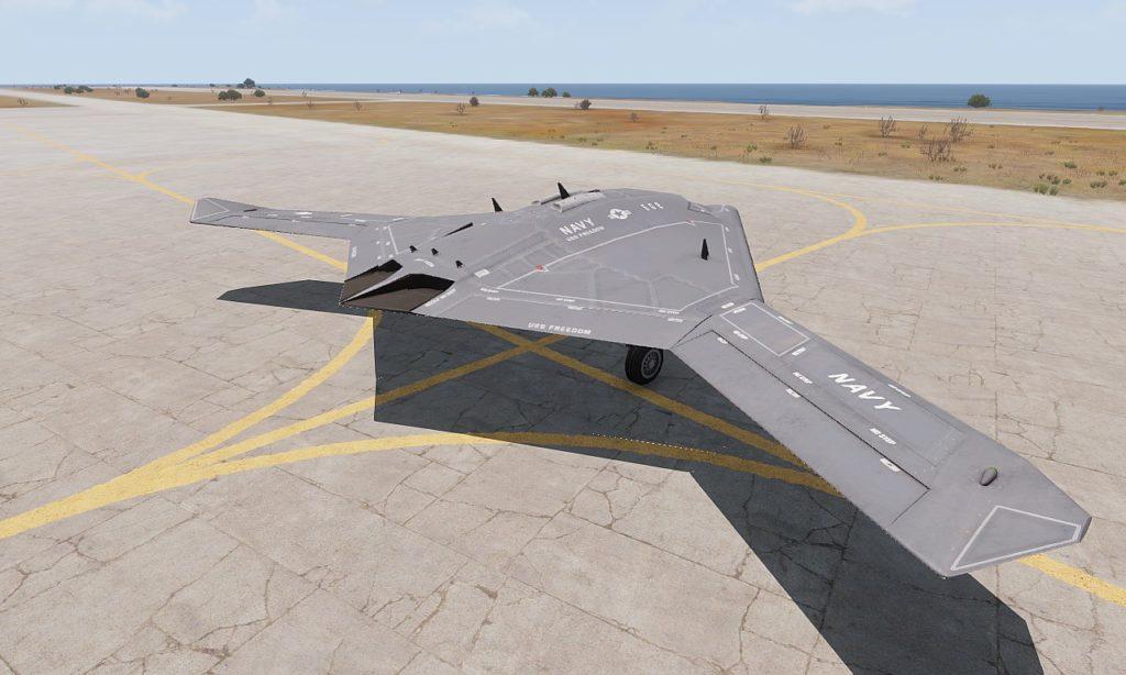 Arma3 Jets DLC UCAV Sentinel 03