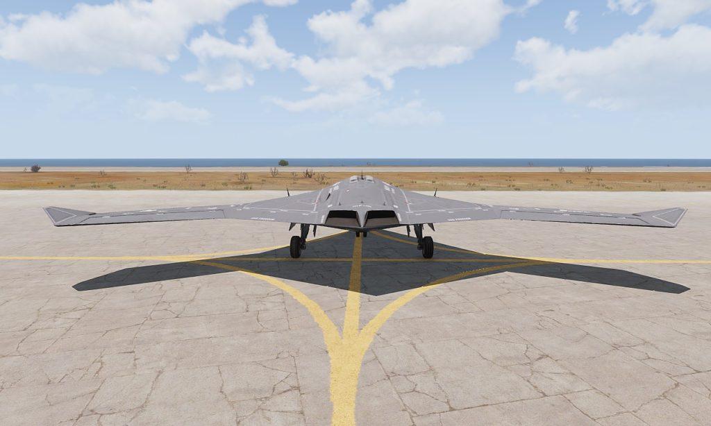 Arma3 Jets DLC UCAV Sentinel 04