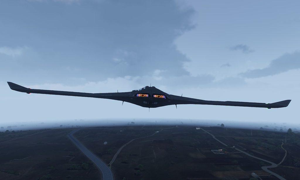 Arma3 UCAV Sentinel Flight 03 (based X-47 )