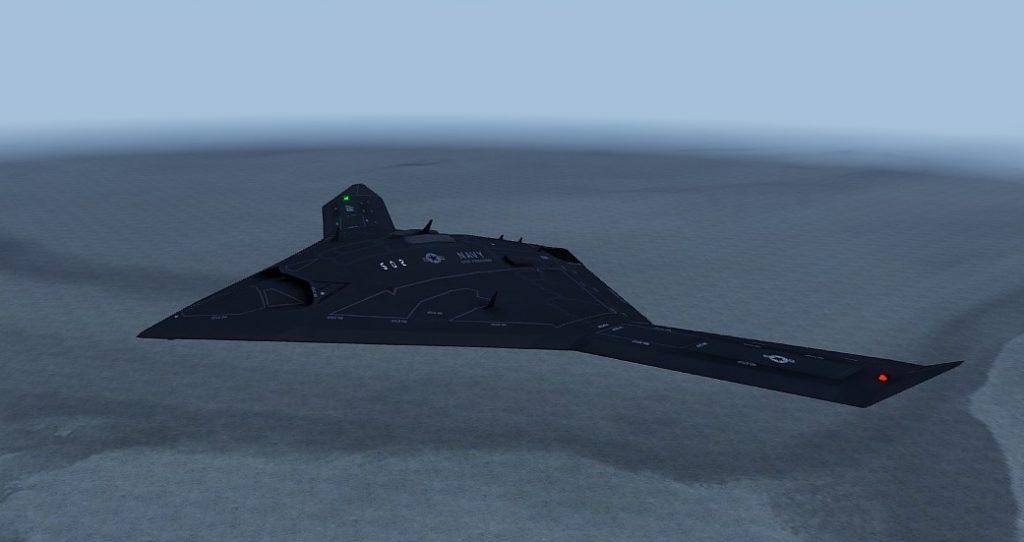 Arma3 Jets DLC UCAV Sentinel Flight 01