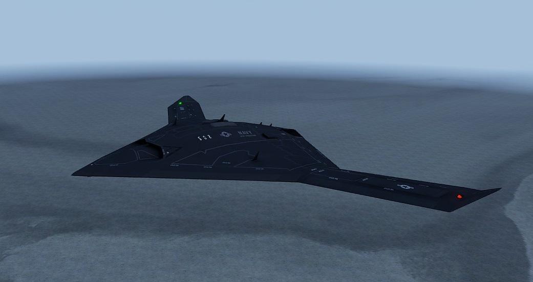 Arma3 UCAV Sentinel (based X-47 )