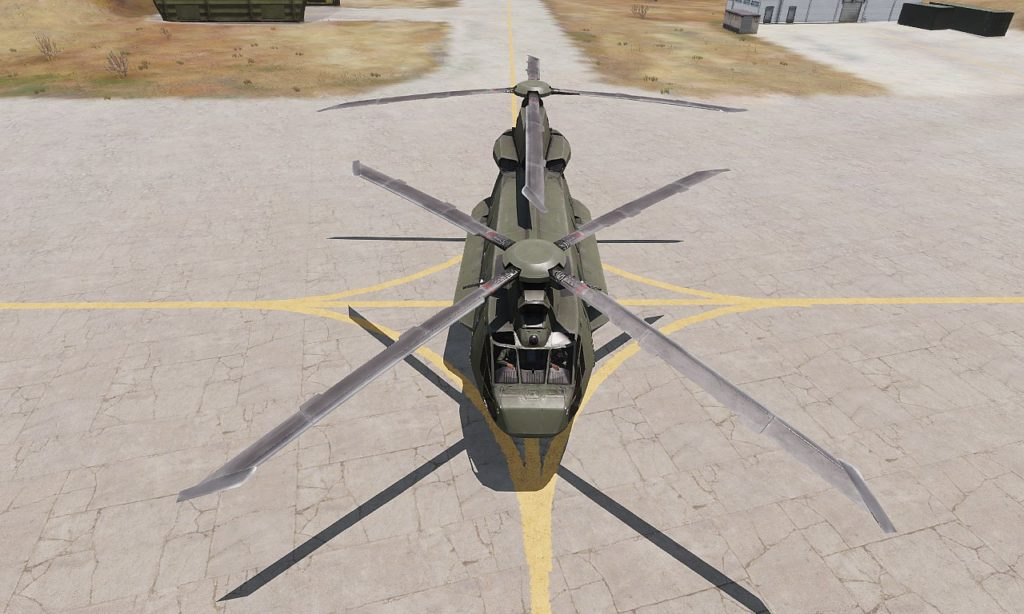 Arma3 Helicopters DLC CH-67 Huron front