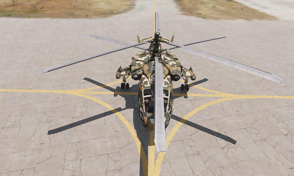 Arma 3 Helicopters DLC Mi-290 Taru front