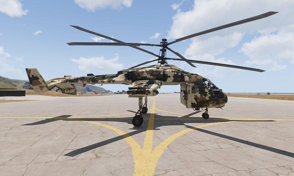 Arma 3 Helicopters DLC Mi-290 Taru side