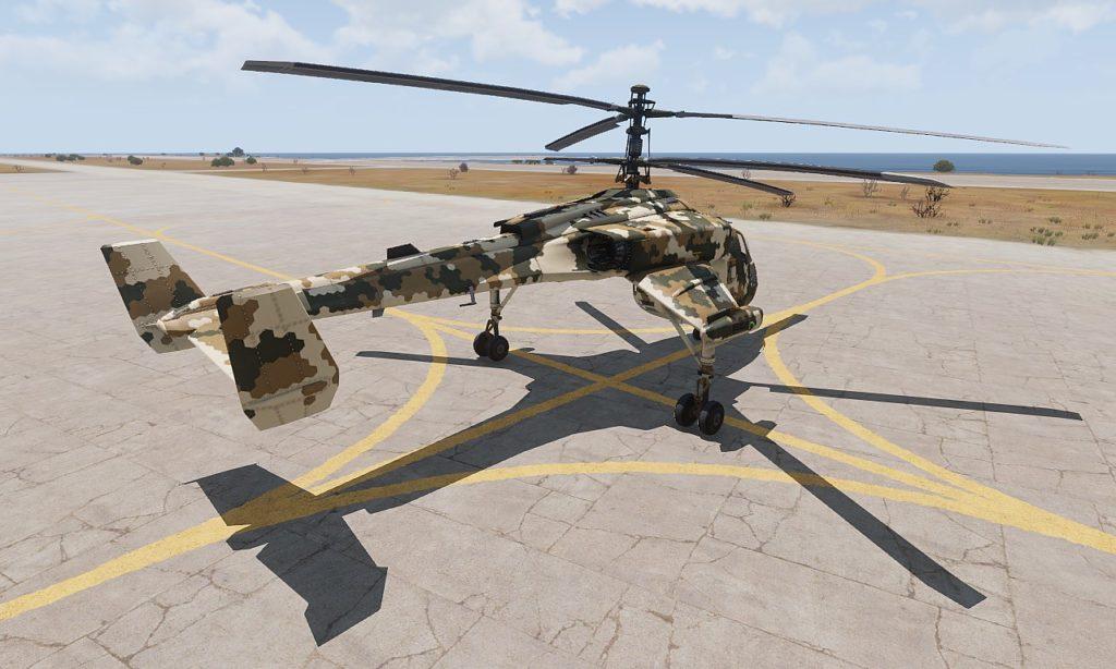 Arma 3 Helicopters DLC Mi-290 Taru rear