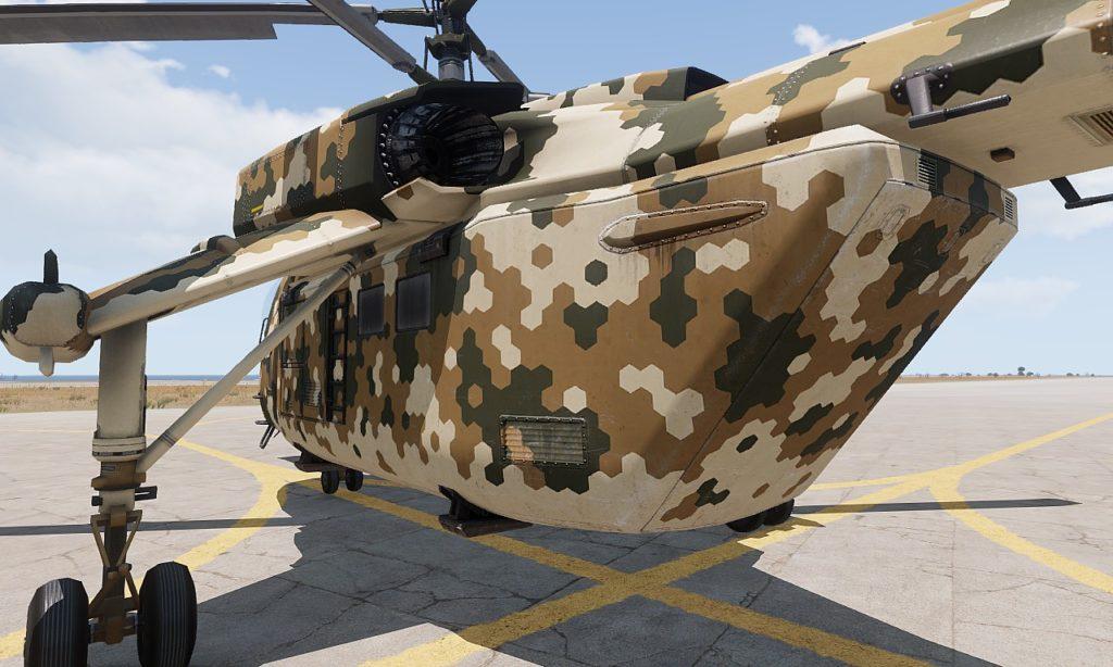 Arma 3 Helicopters DLC Mi-290 Taru Mission pod