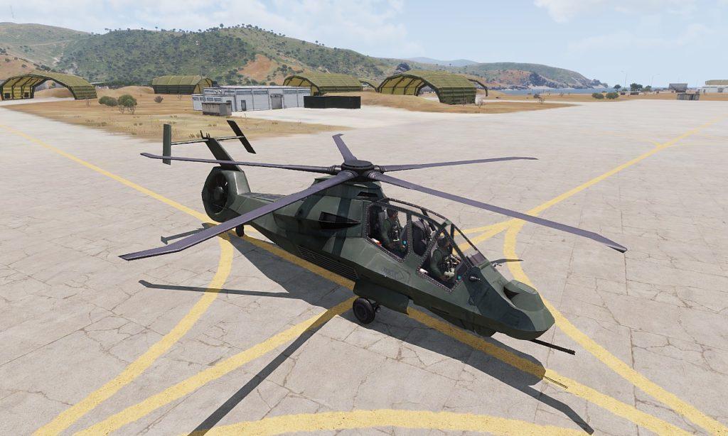Arma 3 AH-99 Blackfoot View 01