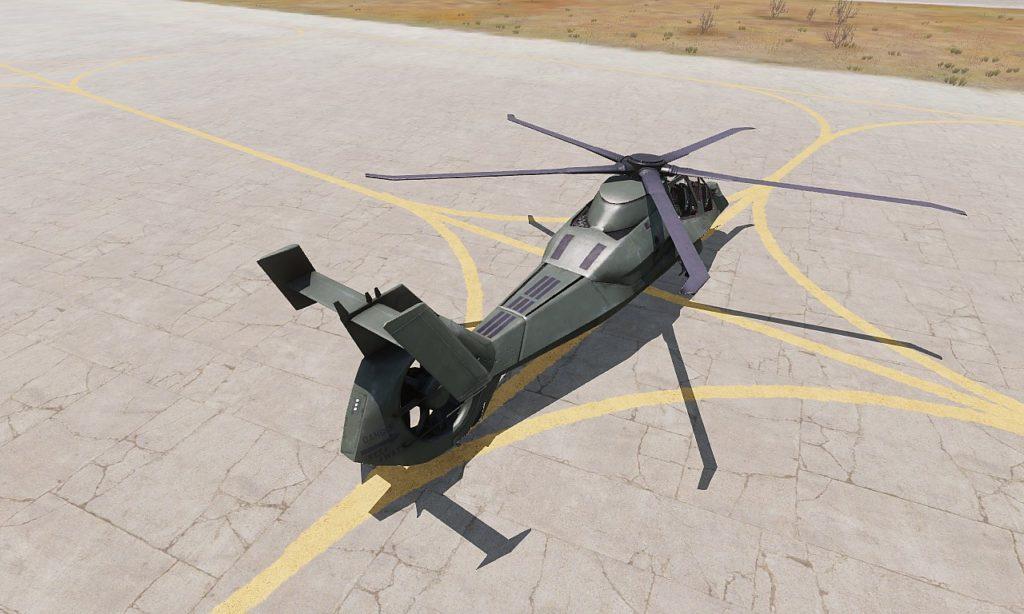 Arma 3 AH-99 Blackfoot View 02