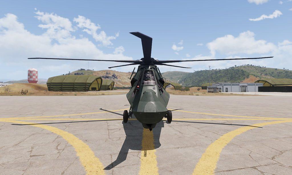 Arma 3 AH-99 Blackfoot Front