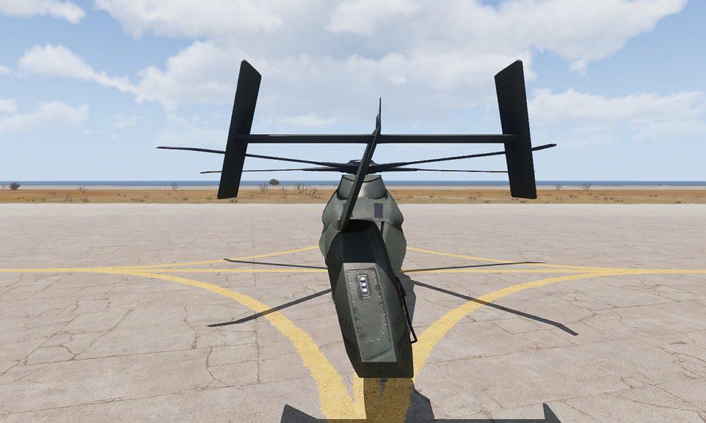 Arma 3 AH-99 Blackfoot Rear
