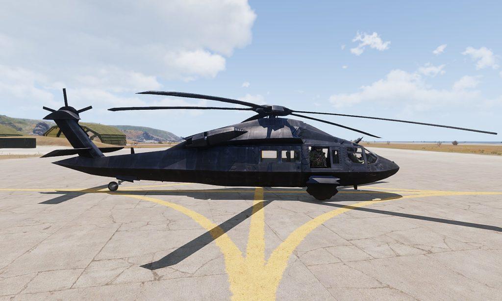 Arma3 UH-80 Ghost Hawk View 03