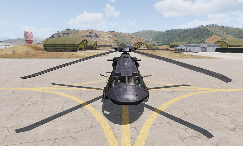 Arma3 UH-80 Ghost Hawk View 02
