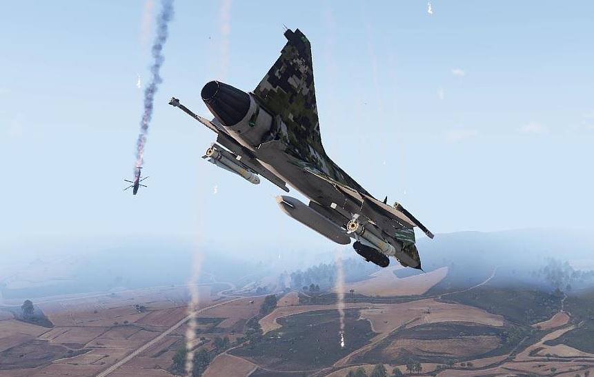 Arma3 A-149  Shooting down