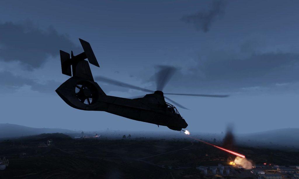 Arma 3 AH-99 Blackfoot Shot based RAH-66