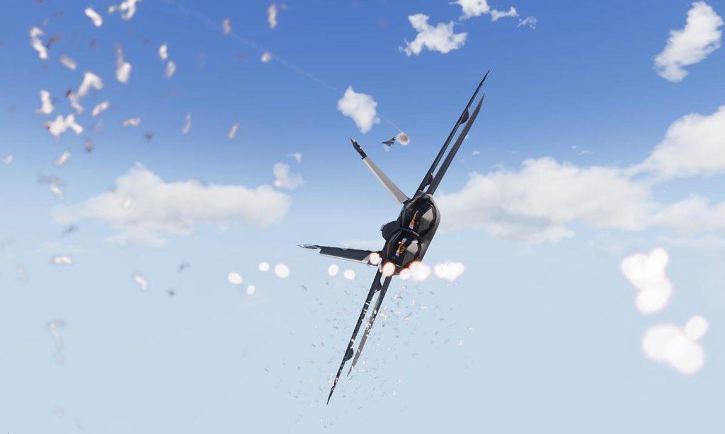 Arma 3 Jets DLC F/A-181 Black Wasp 2  Chaff Flare