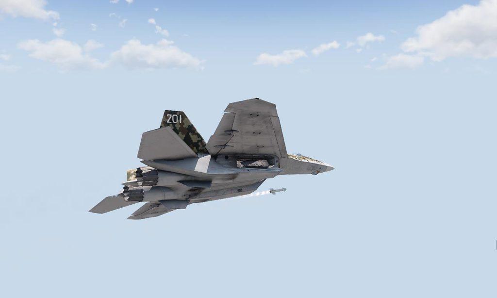Arma3 Jets DLC To-201 Shikra Missile Shooting 01
