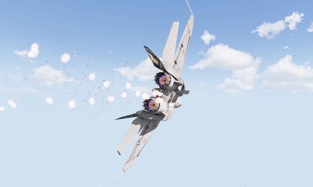 Arma3 Jets DLC To-201 Shikra Chaff Flares