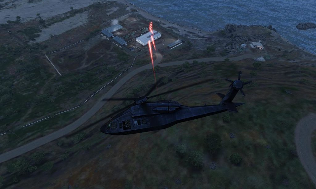 Arma3 UH-80 Ghost Hawk Shot 01