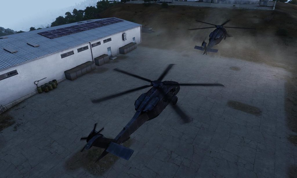 Arma3 UH-80 Ghost Hawk Sortie