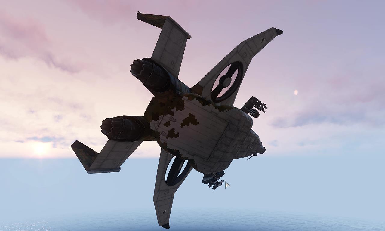 VTOL 次世代機を操縦してミッションに挑め! Arma3 Y-32 Xi'an