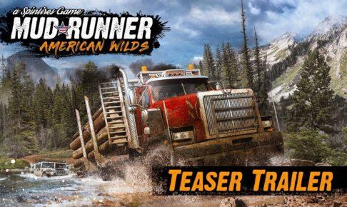 Spintires Mudrunner DLC American Wilds