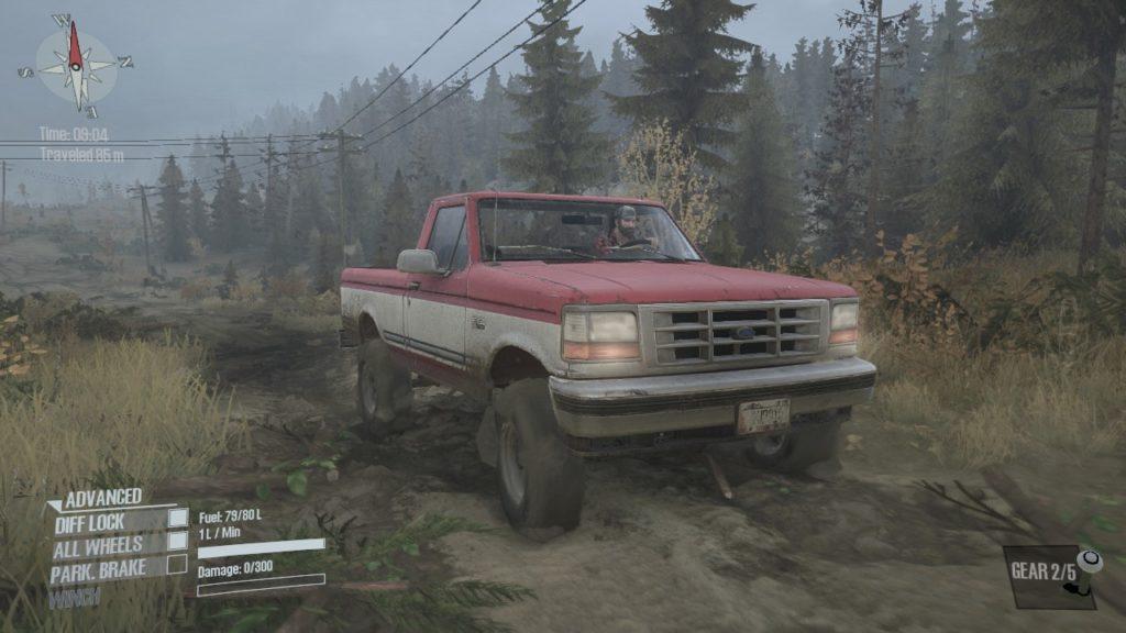 Spintires: Mudrunner Ford F150 06
