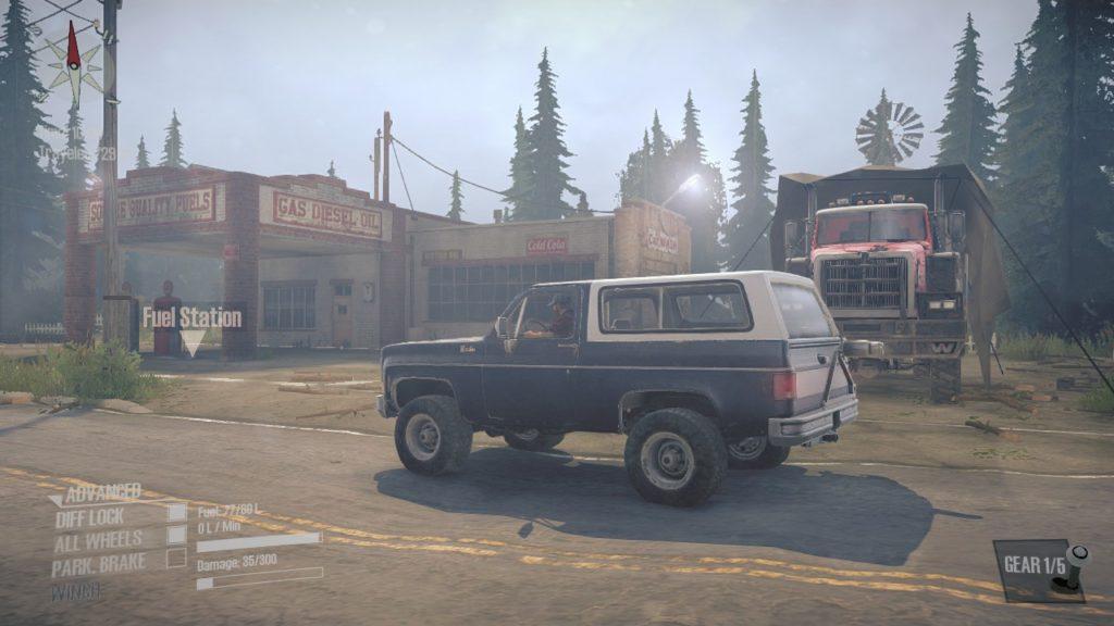 Spintires Mudrunner DLC マップ 02