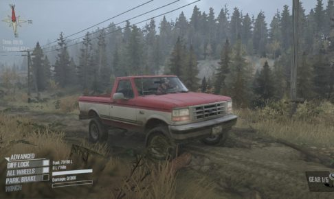 Spintires: Mudrunner Ford F150