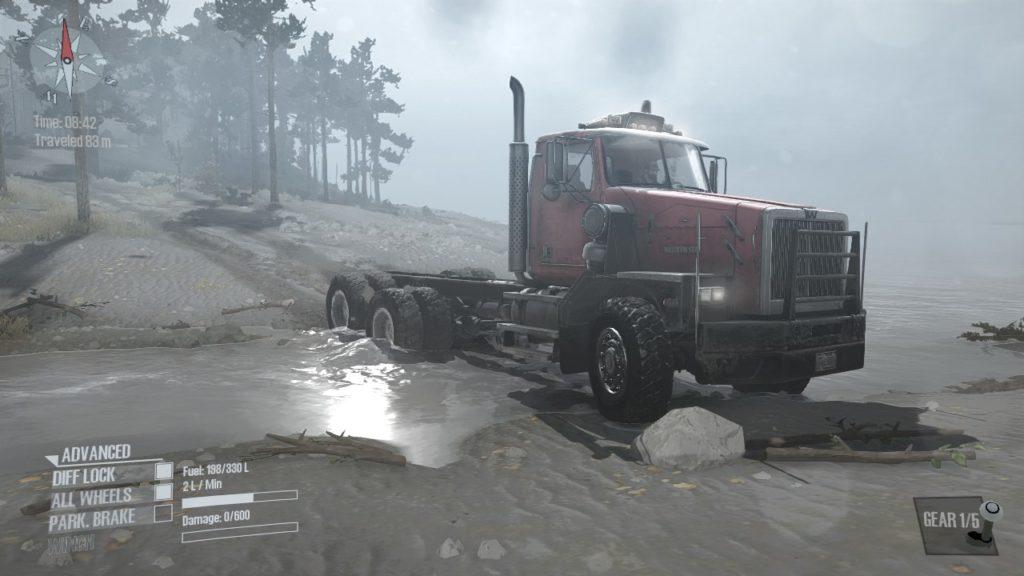 Spintires Mudrunner DLC ウェスタン・スター 6900XD