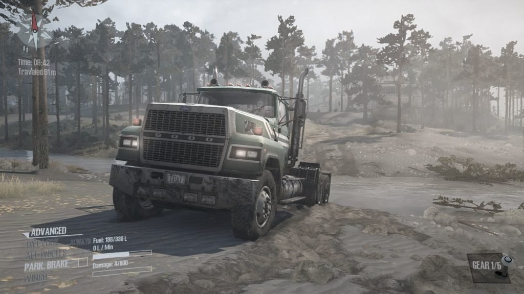 Spintires Mudrunner DLC フォード LTL9000
