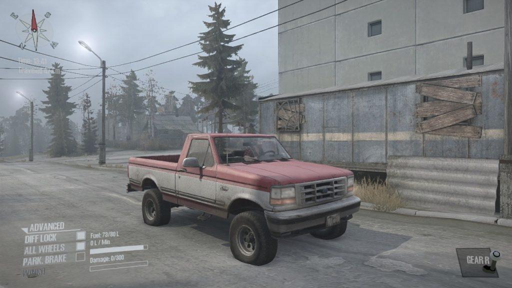 Spintires: Mudrunner Ford F150 02