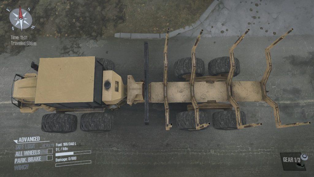 Spintires: Mudrunner K-9000 06