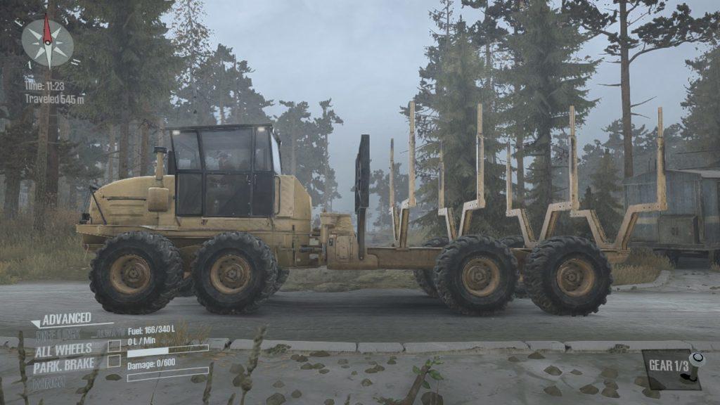 Spintires: Mudrunner K-9000 04