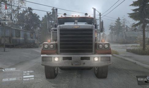 Spintires: Mudrunner Chevrolet Bison