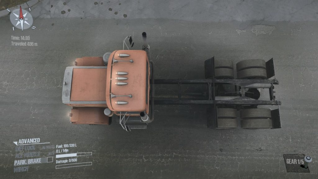 Spintires: Mudrunner Chevrolet Bison 05