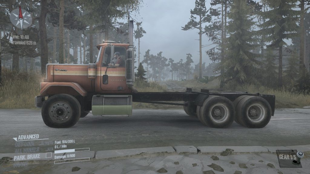 Spintires: Mudrunner Chevrolet Bison 03
