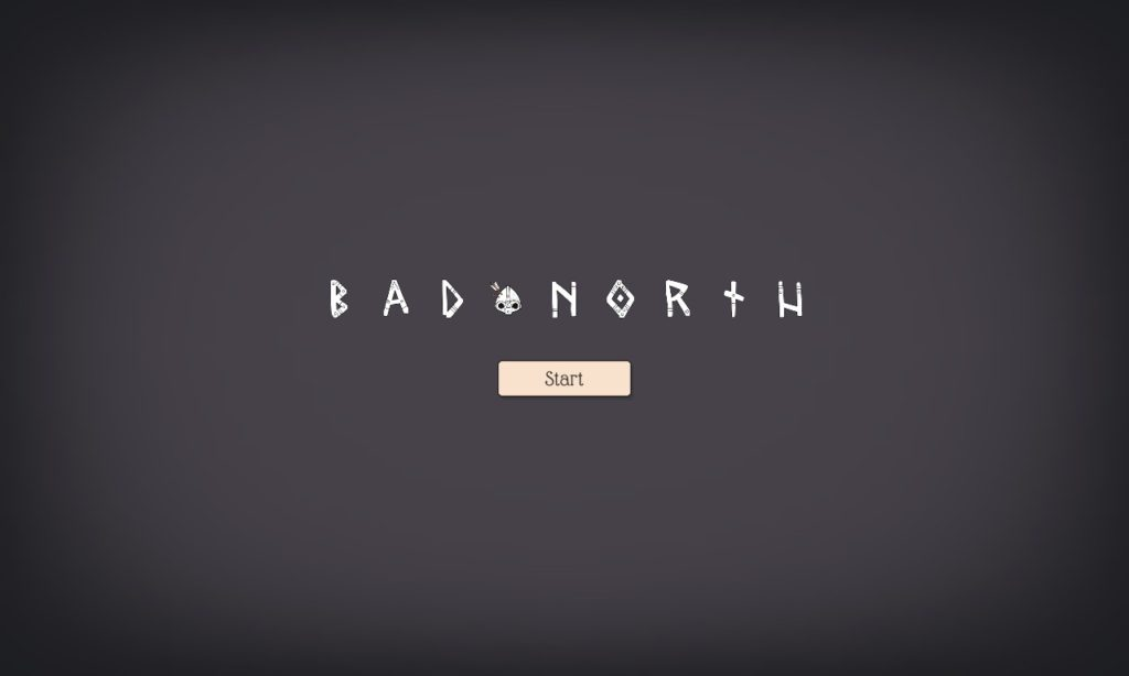 BAD NORTH Title