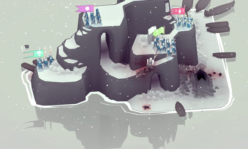BAD NORTH Snow battle