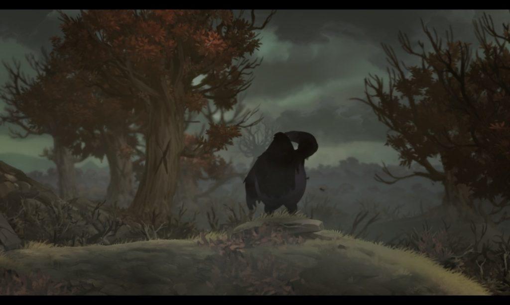 オリとくらやみの森 オープニング9