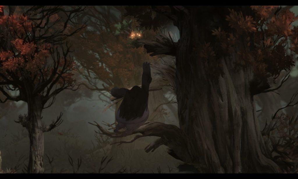 オリとくらやみの森 オープニング11
