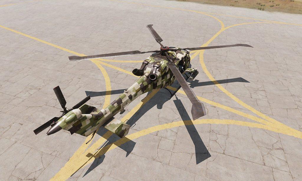 Arma3 WY-55 Hellcat 06