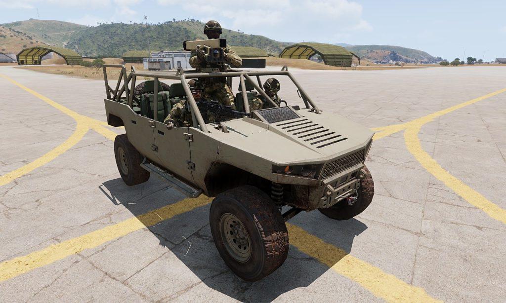 Arma3 Prowler 高機動車 AT