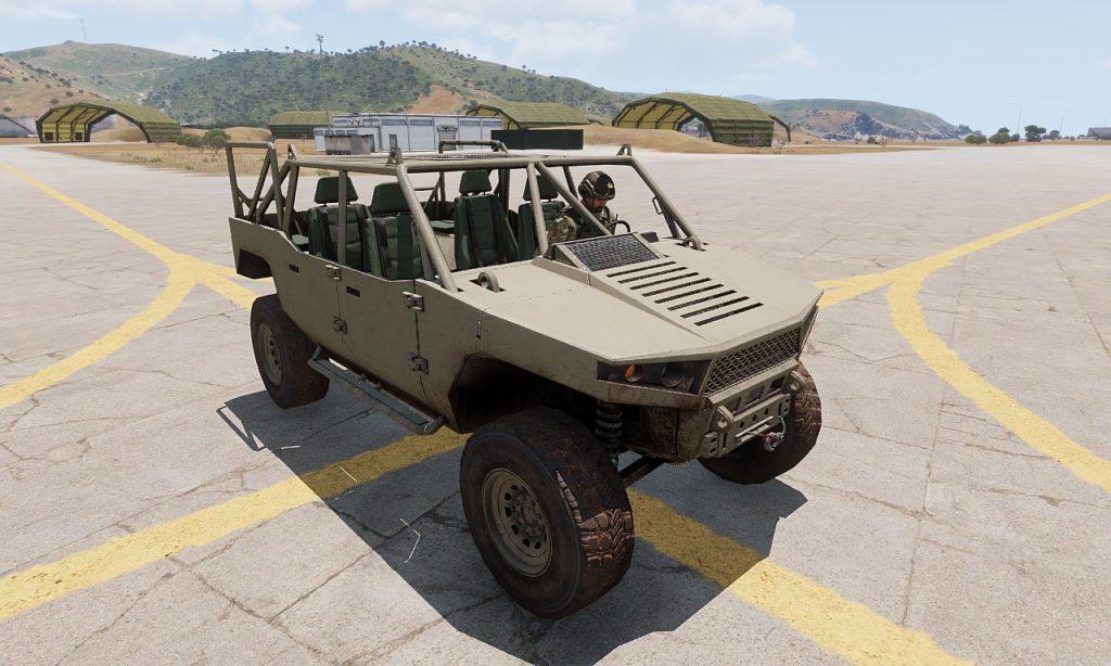 Arma3 Prowler 高機動車