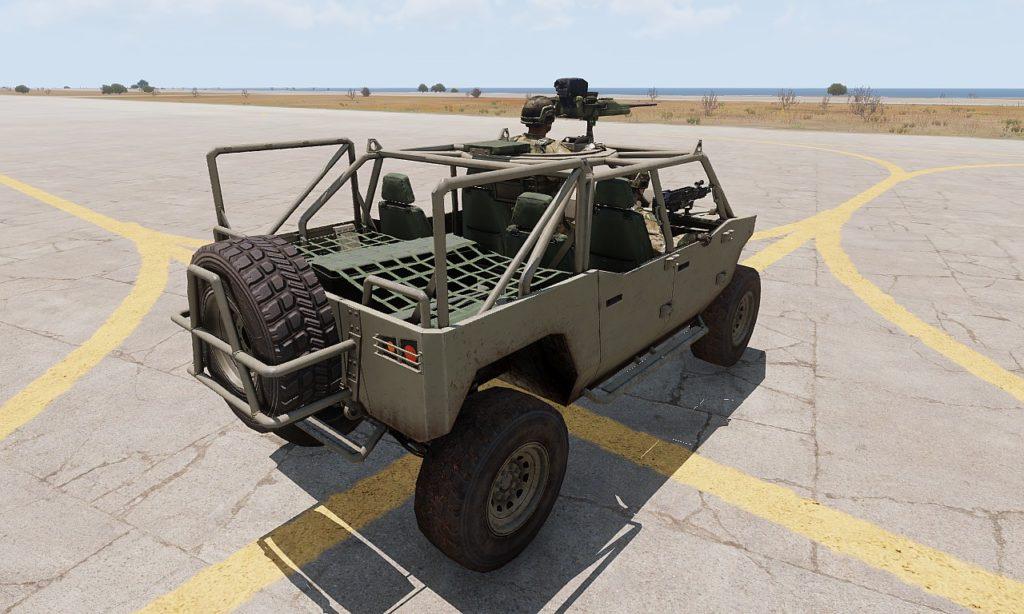 Arma3 Prowler 高機動車 7
