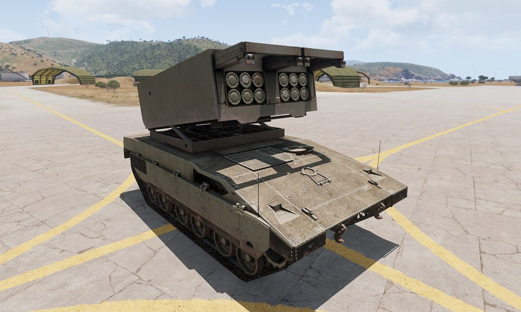 Arma3 M5 Sandstorm MLRS 2