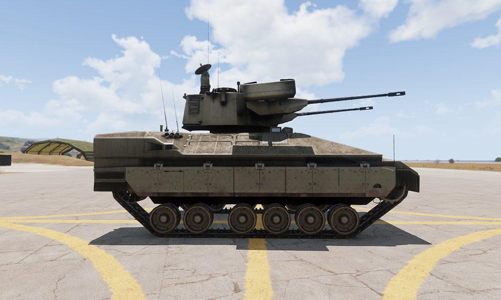 Arma3 IFV-6a Cheetah 自走対空砲 4